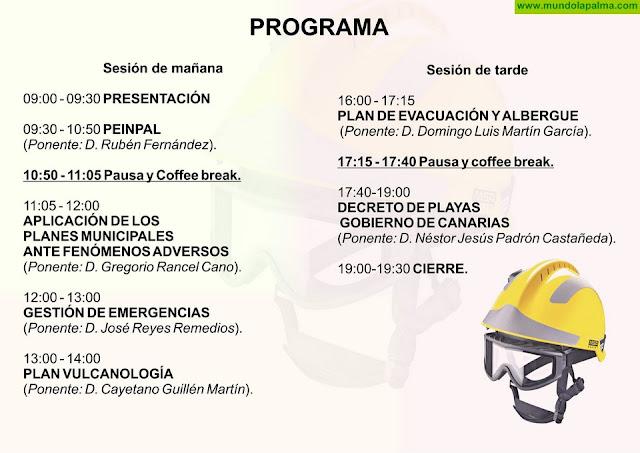El Cabildo celebra una jornada formativa de protocolos de emergencias - PROGRAMA