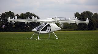 """Впервые испытали летающий автомобиль """"Volocopter"""""""