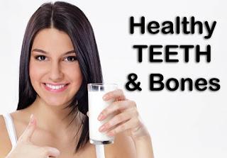 4.Strong Bones And teeth.