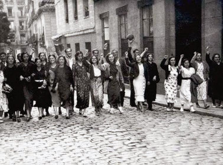 Resultado de imagen para LA APARICIÓN DEL MOVIMIENTO FEMINISTA