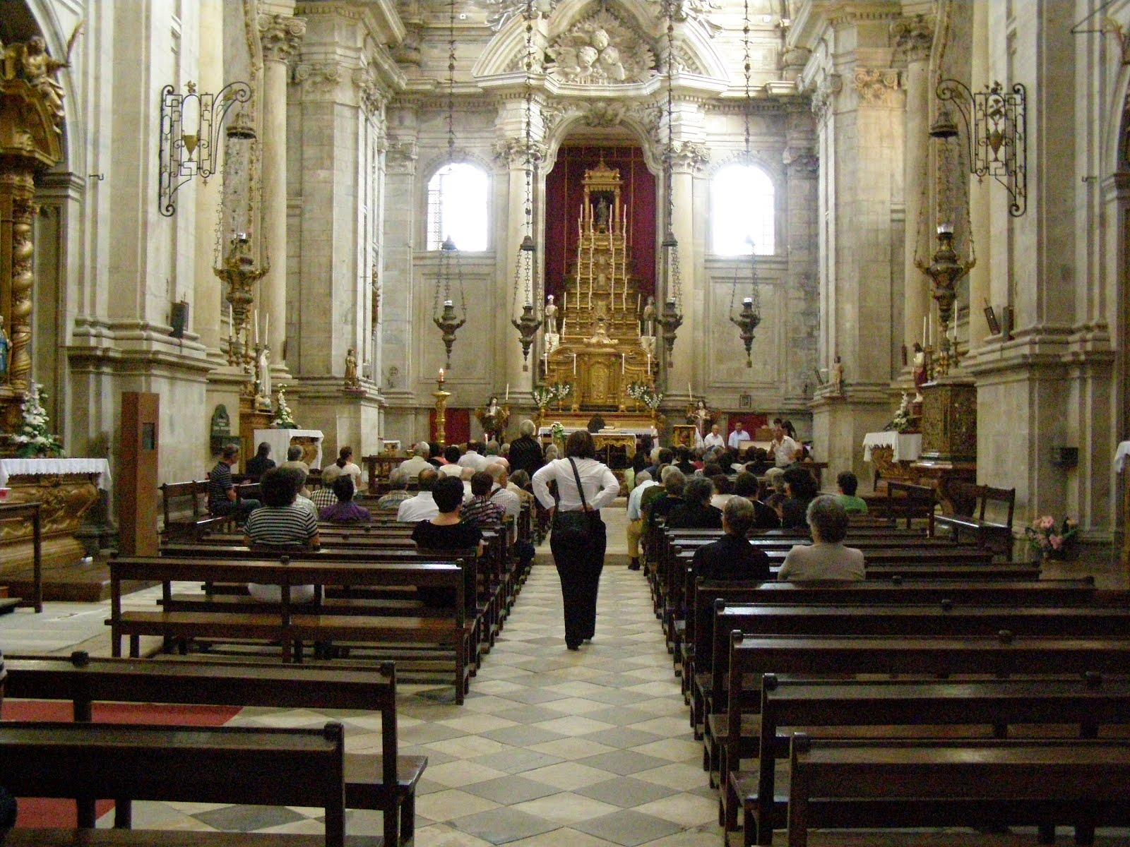 PORTO, DE AGOSTINHO REBELO DA COSTA AOS NOSSOS DIAS: RIO ... Santa Sabina Interior