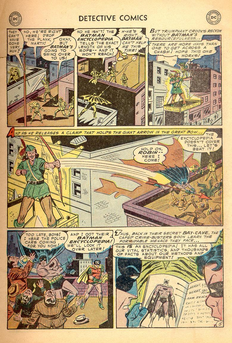 Read online Detective Comics (1937) comic -  Issue #214 - 7