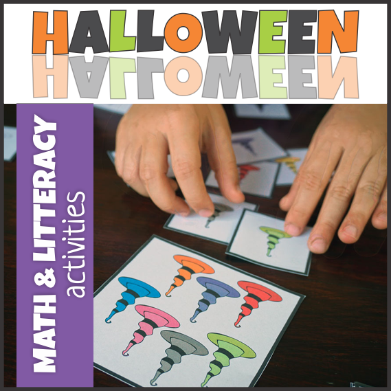 Playing Cards for Math and Literacy Centers