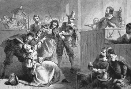 The crucible unfair witch trials