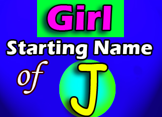 Modern Baby Girl Names Starting With J