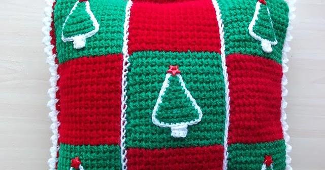 Zelf Maken Haken Voor Kerst Maak Een Kussen