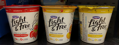 Danone Light & Free single pots