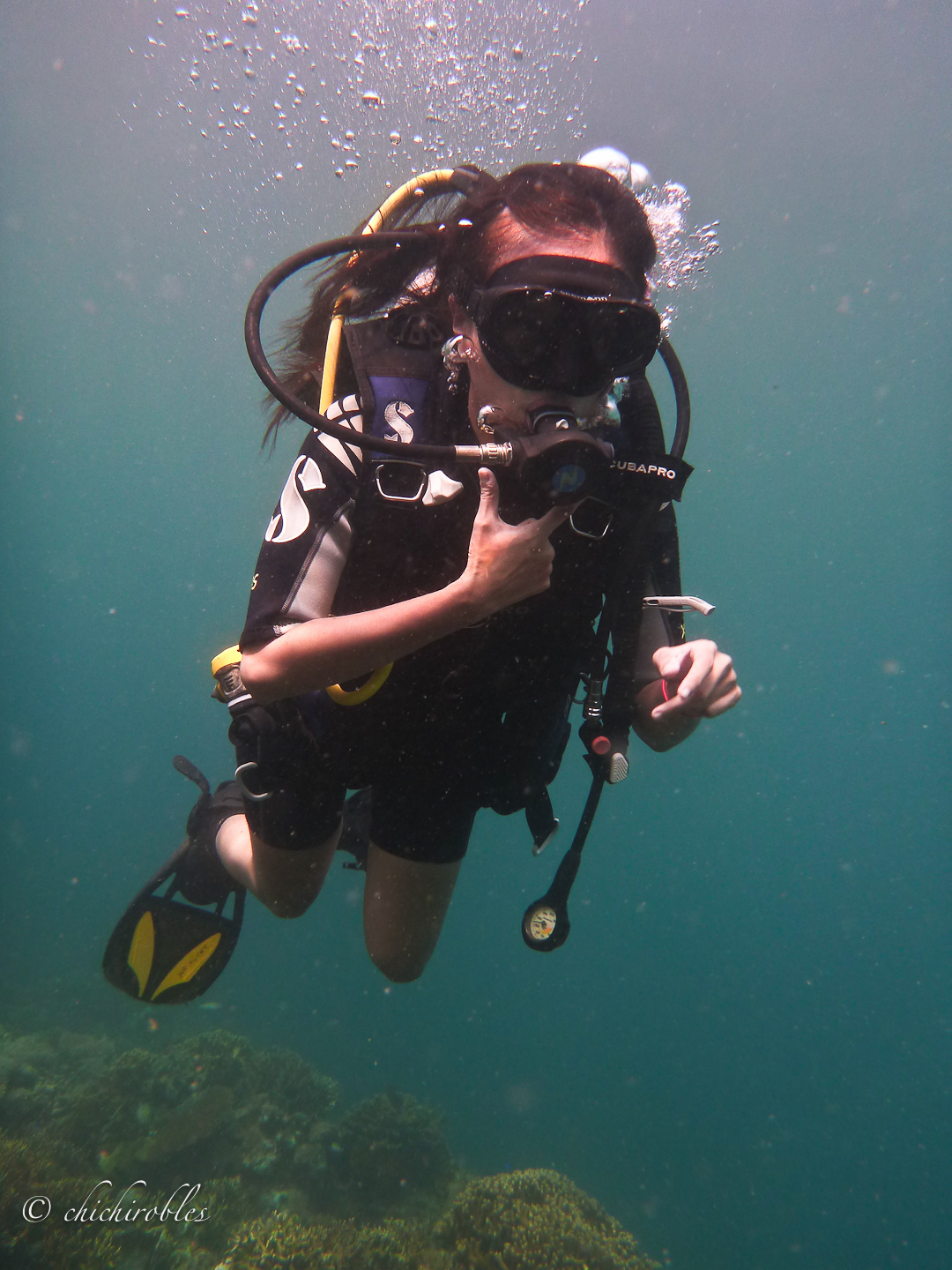 Scuba Diving In Coron Palawan Travel With Chichi
