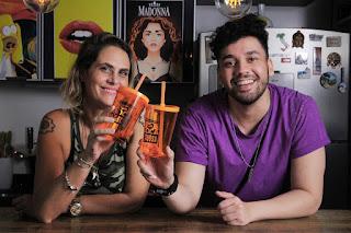 """O ator e apresentador Rufis Jr., se uniu com a ex A Fazenda Nova Chance e MasterChef, Aritana Maroni, para a desenvolver conteúdos para o seu novo canal do Youtube o """"Boca Nervosa""""."""