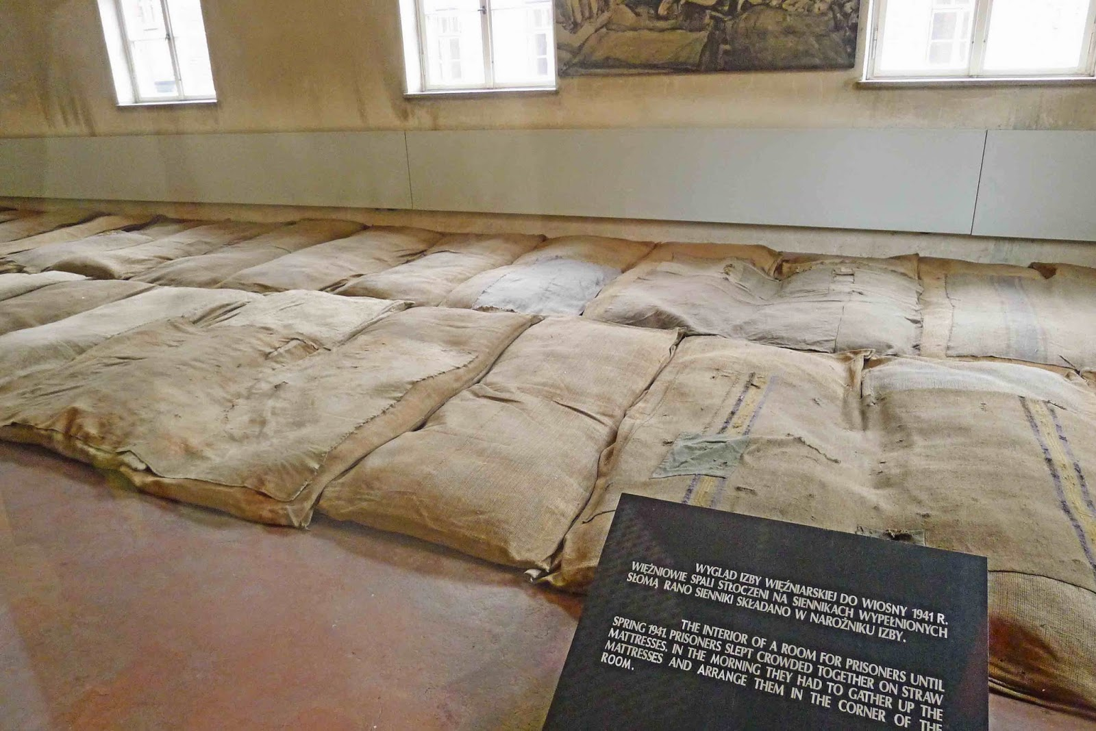Auschwitz Prisoner Bed Mats