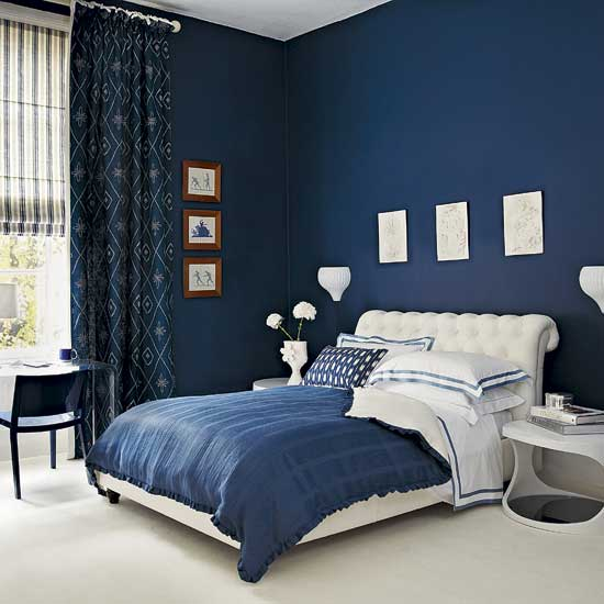 dormitorios azules blue bedrooms dormitorio azul by On diseño de habitaciones azules