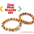 Easy Mala Bracelet Tutorial using Palo Santo Beads