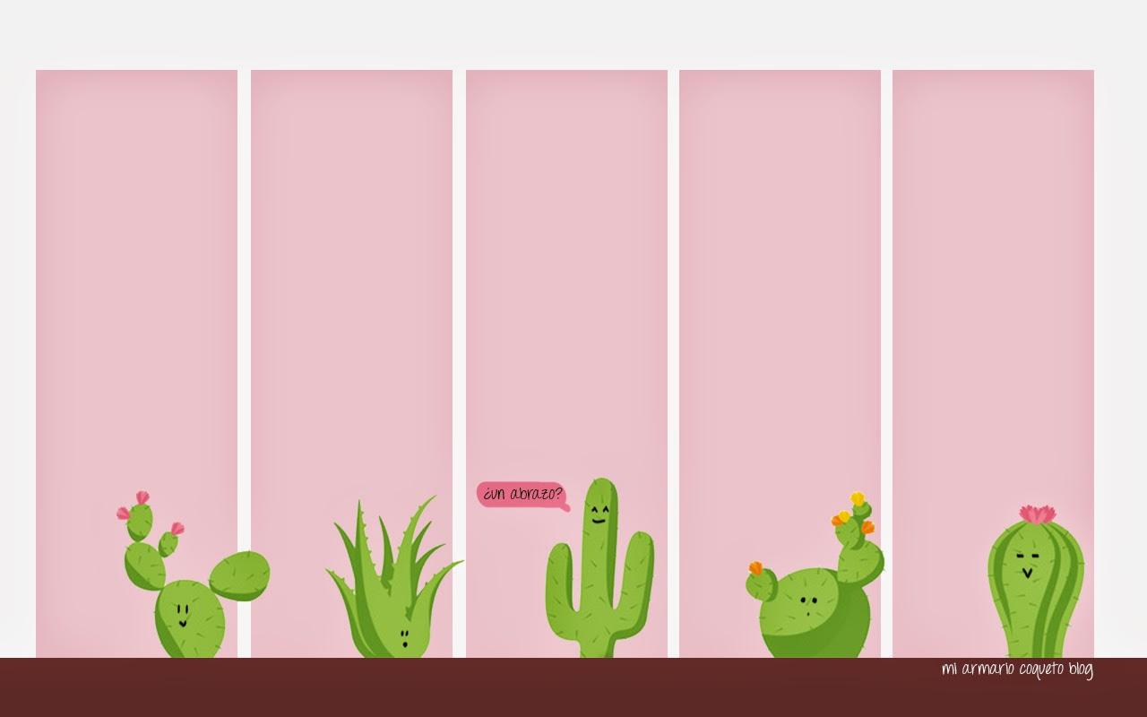Mi Armario Coqueto Fondo De Pantalla Cactus