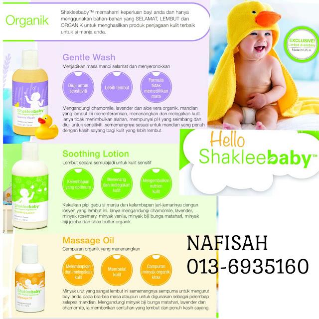 Produk Penjagaan Kulit Organik: Untuk Bayi, Kanak-Kanak, Remaja dan Dewasa