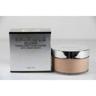 Bedak Ultima II Delicate Translucent Face Powder With Moisturizer