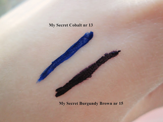 Eyeliner My secret nr 13, eyeliner my secret nr 15