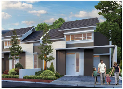Model Rumah ORCHID 1B, 39/128 Citra Indah City