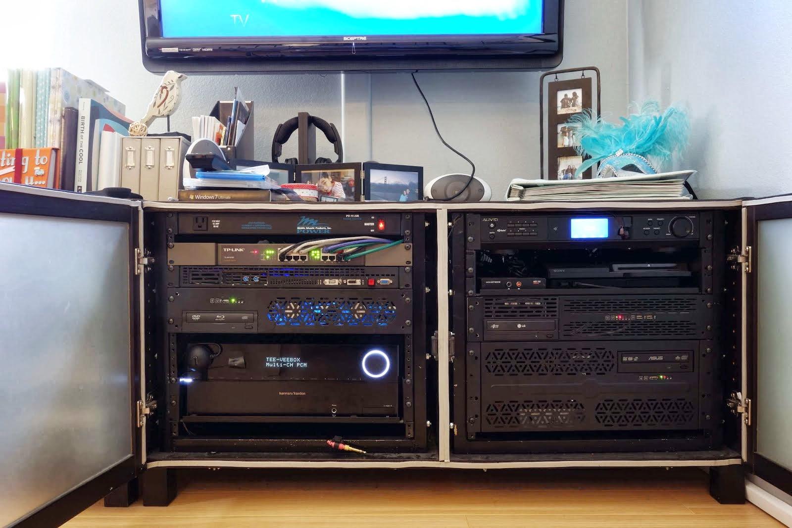 Benno Media Center Server Rack Ikea Hackers