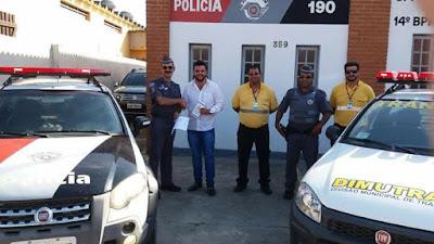 POLÍCIA MILITAR CELEBRA CONVÊNIO DE TRÂNSITO COM O MUNICÍPIO DE ILHA COMPRIDA