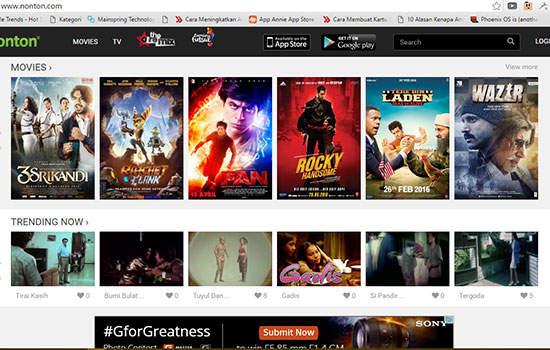 streaming film dengan sub Indonesia tanpa harus terganggu iklan