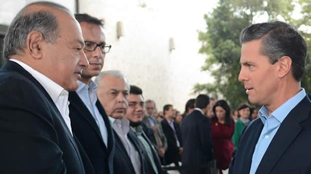 Peña Nieto, PAN, PRI y PRD pactaron acabar con Carlos Slim