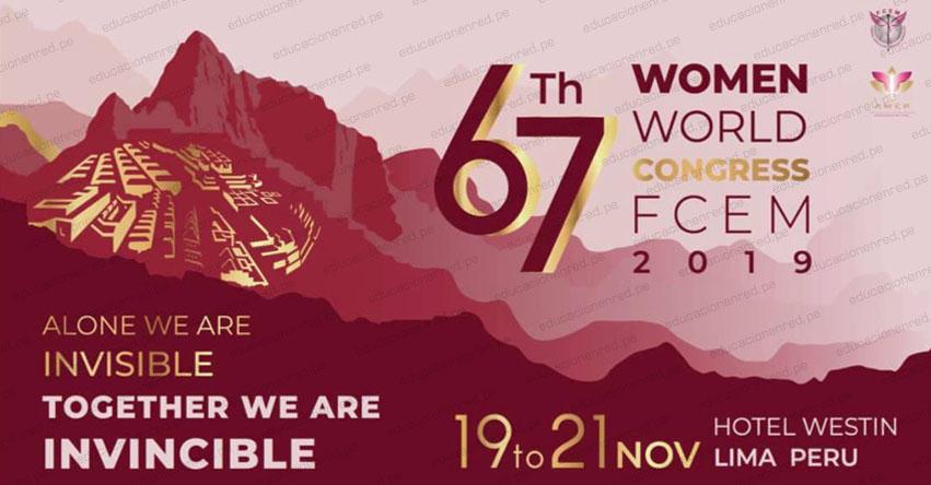 Lima será sede del «67 Congreso Mundial de Mujeres Empresarias» (FCEM 2019)