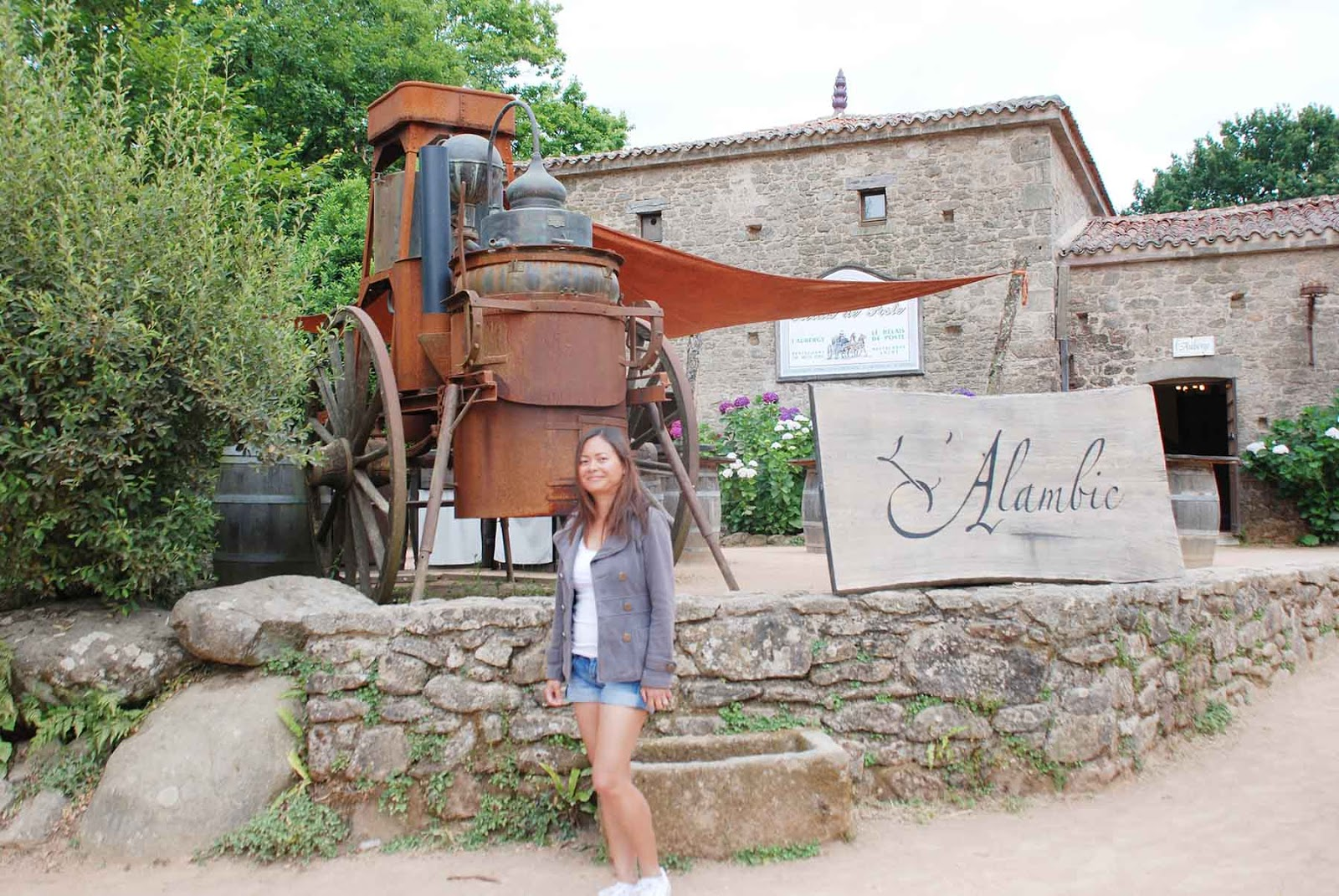 Time stands still in an 18th century french village for 18th century french cuisine