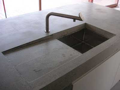 Arbeitsplatte Küche Beton