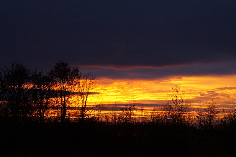 Sonnenuntergang im Herbst // Autumn Sunset