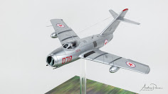 "Build Review: 1/48th scale MiG-15 ""Fagot B"" Korean War from Bronco Models"