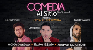 Regresa COMEDIA AL SITIO (Stand Up Comedy) 1