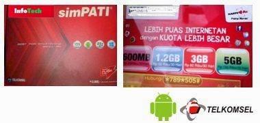 Pilihan Terbaik Paket Internet Telkomsel Untuk HP Android dan Cara Daftar