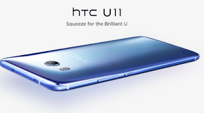 HTC Back Presents eye U11 Handset