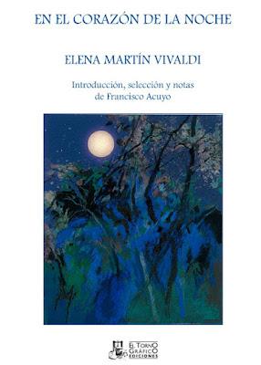 El corazón de la noche, o Elena Martín Vivaldi, Ancile