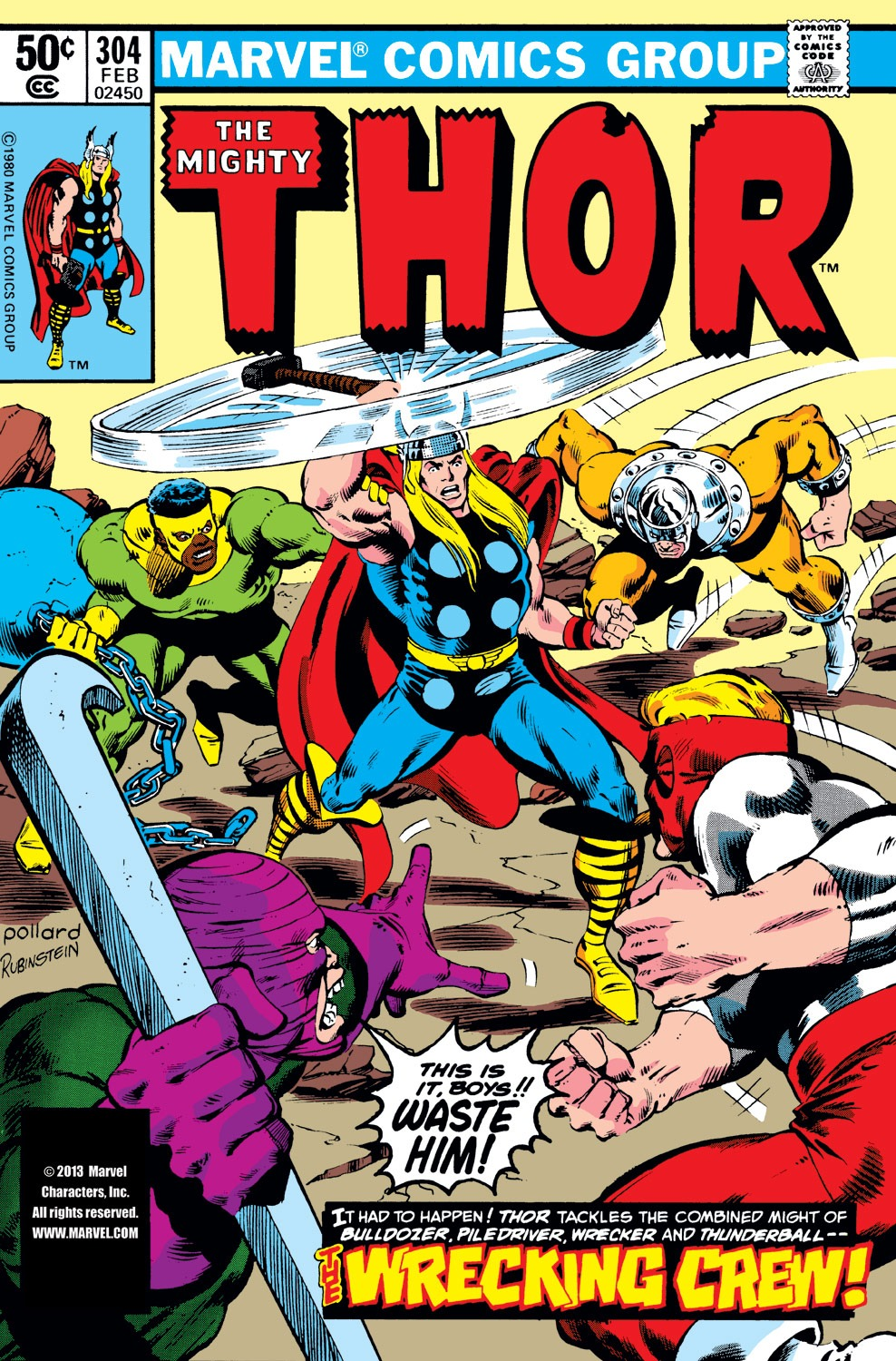 Thor (1966) 304 Page 1
