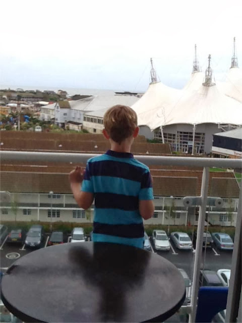 Butlins Wave Hotel balcony safety