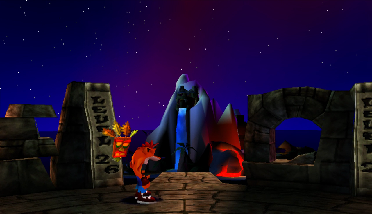 Crash Bandicoot  Secret Warp Room