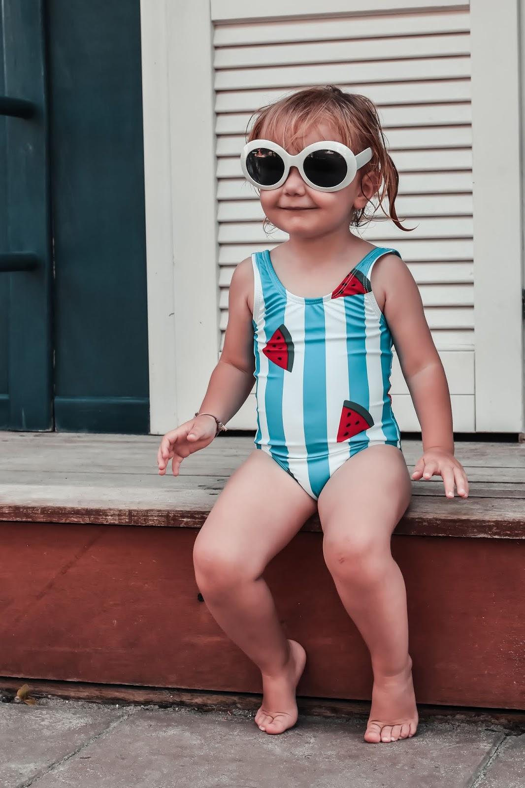 costume intero bambina