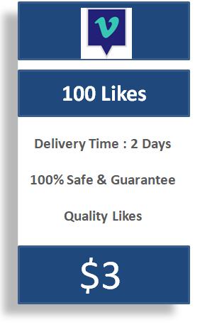 100 Vimeo Likes