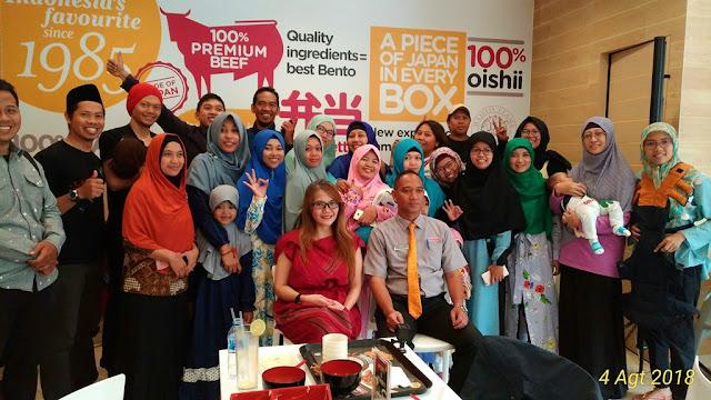 Kumpul bareng Komunitas Blogger Malang di HokBen Soehat