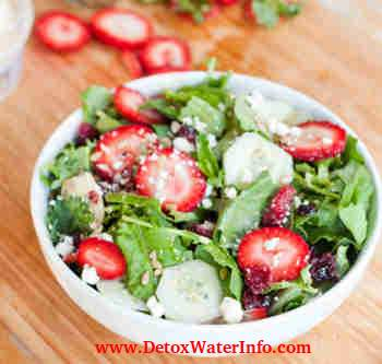 Salads for detox diet weight loss plan