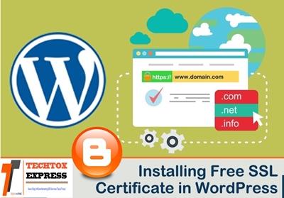 Blog Ya Website Par Free SSL Certificate install Kaise Kare-Techtox Express