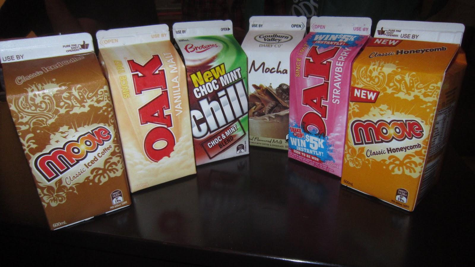 Plan A: Got (Flavoured) Milk?