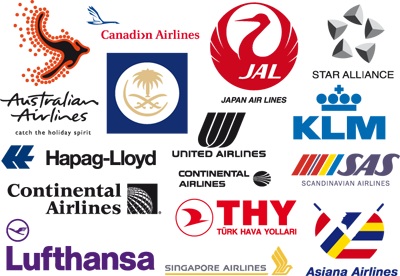 world airlines logos luxury places