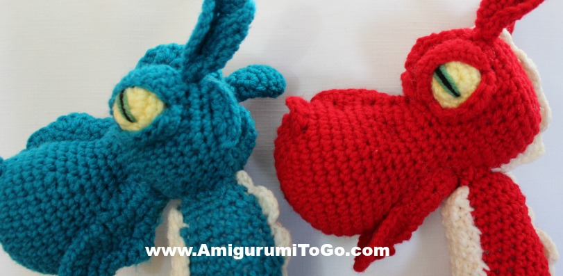 Fierce or Sleepy Dragon Part Three ~ Assembly ~ Amigurumi ...