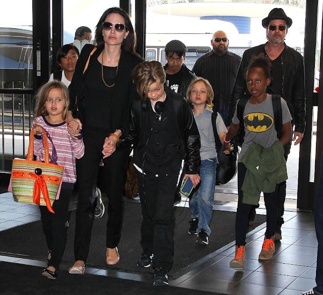 Como vai Angelina Jolie e Brad Pitt vão dividir sua fortuna 400 milhões
