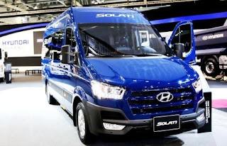 Ngoại thất Hyundai Solati H350