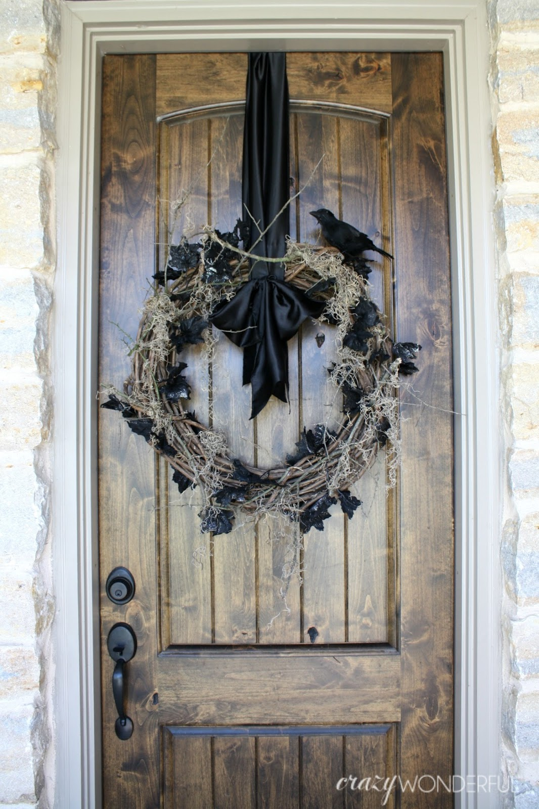 Spooky Halloween Wreath Crazy Wonderful