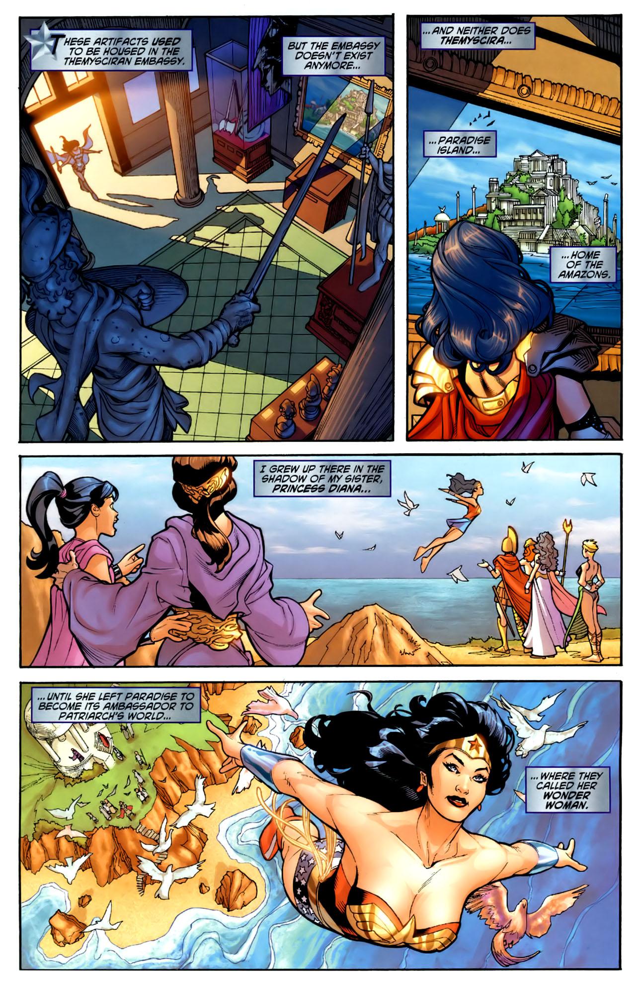 Read online Wonder Woman (2006) comic -  Issue #1 - 6