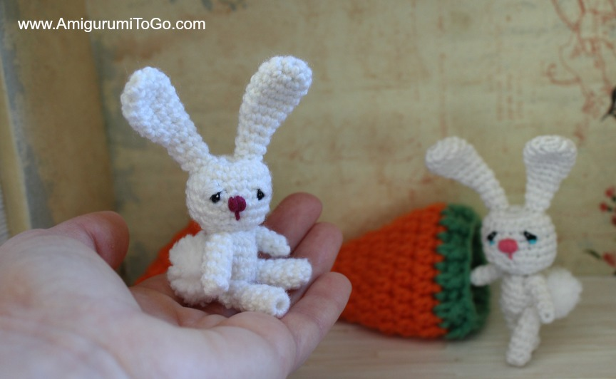 Amigurumi To Go Coraline : Flossy the thread bunny ~ amigurumi to go